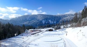 Skistadion mit ARBER Seewand